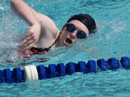 Maggie Straub Swimming