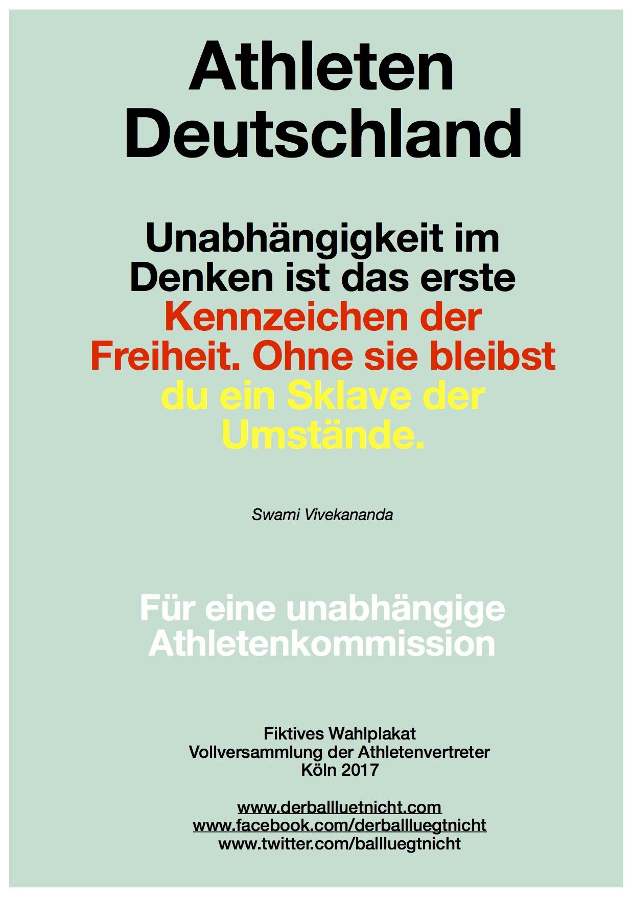 Athleten Deutschland
