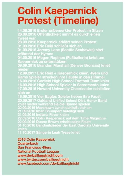 Timeline Colin Kaepernick